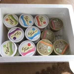 お礼の品アイス中身
