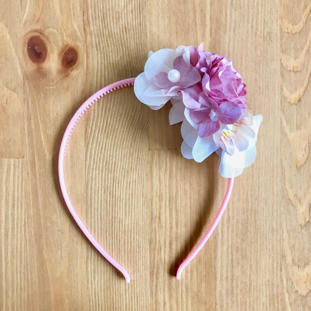 お花のカチューシャ