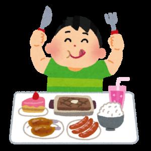 いろいろな物を食べる人