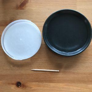 オブラート、小皿、つまようじ